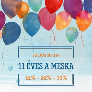 11 éves a Meska