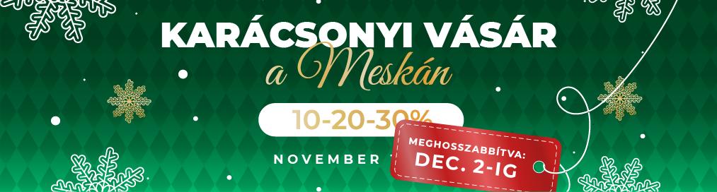 Karácsonyi Vásár a Meskán
